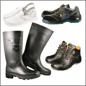 kalosze, trzewiki, buty medyczne