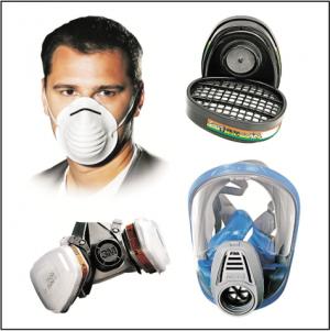 maski, półmaski, filtry, pochłaniacze