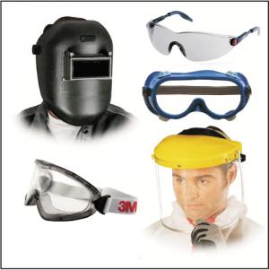 gogle, maski, ochrona twarzy