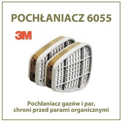 Pochłaniacz 3M 6055